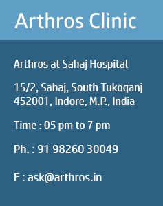 About Dr. Vinay|Sports Medicine and Arthroscopic Surgery Centre, Indore